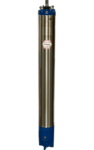 Water-Lubricated Rewindable Submersible Motors